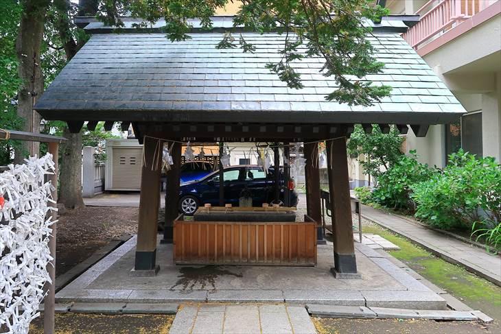 三吉神社 手水舎