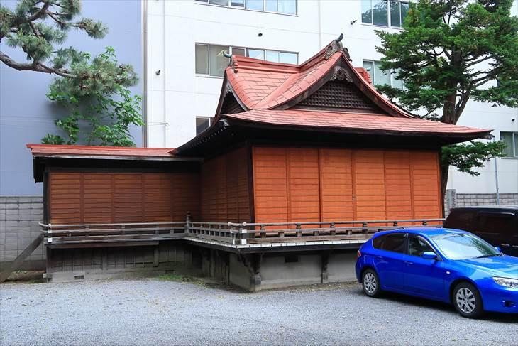 三吉神社 神楽殿