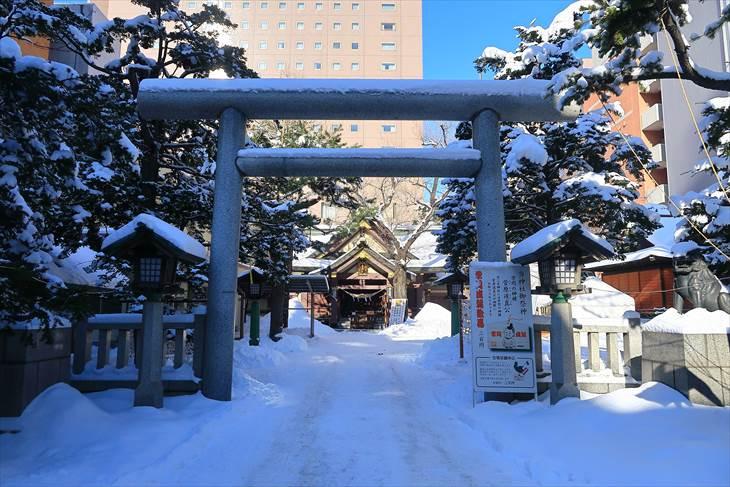 三吉神社 冬