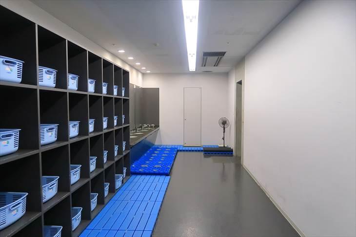 札幌ドーム シャワー室