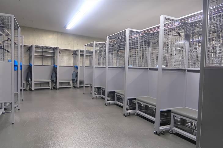 札幌ドーム ビジターチーム ロッカー室