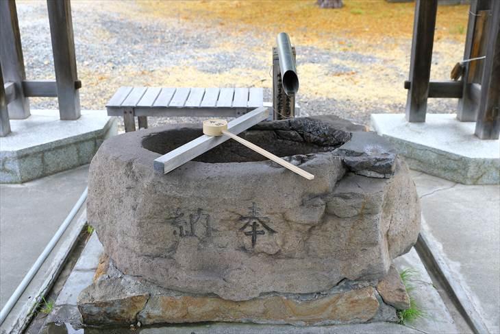 札幌村神社 手水舎