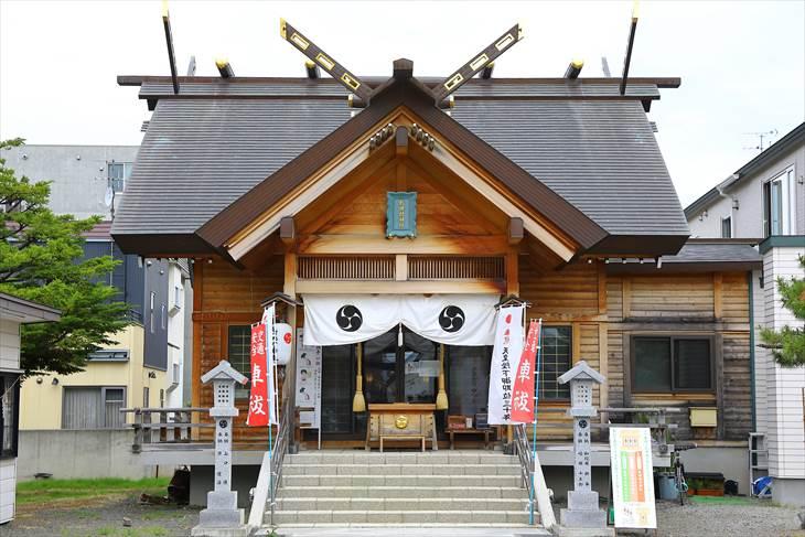 札幌村神社 拝殿