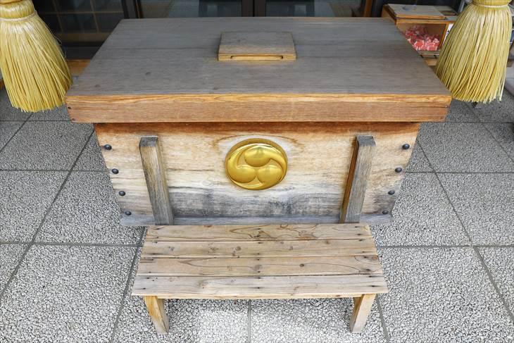 札幌村神社 賽銭箱