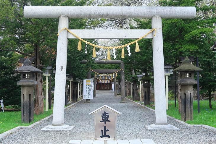 新琴似神社の第一鳥居