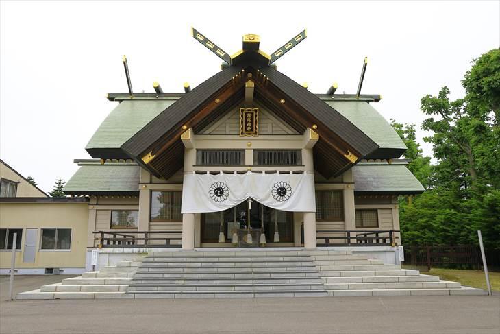 篠路神社 拝殿