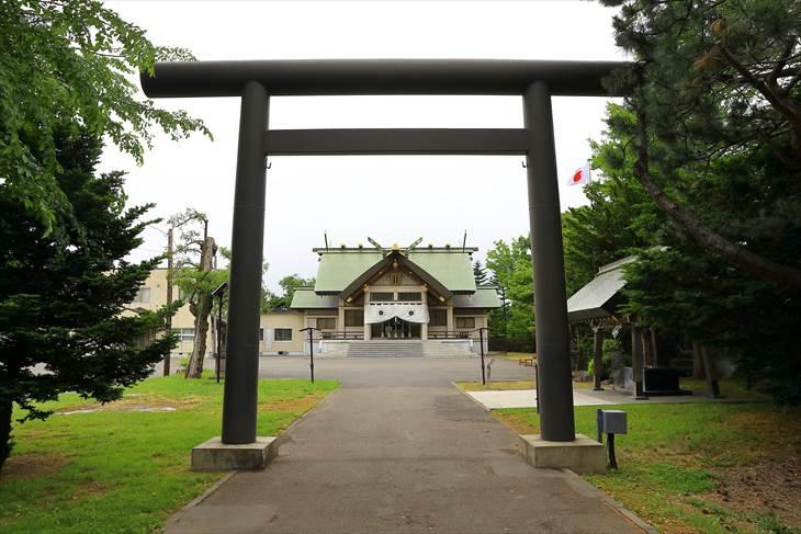 篠路神社二之鳥居