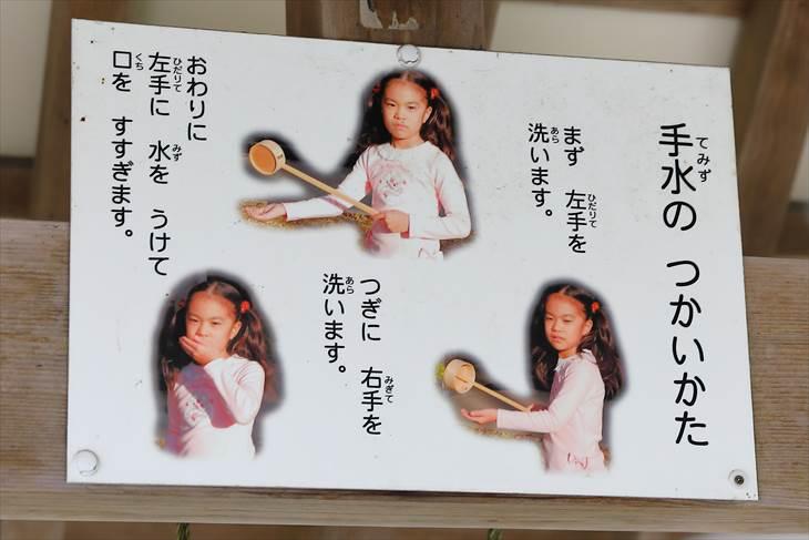 篠路神社 手水舎