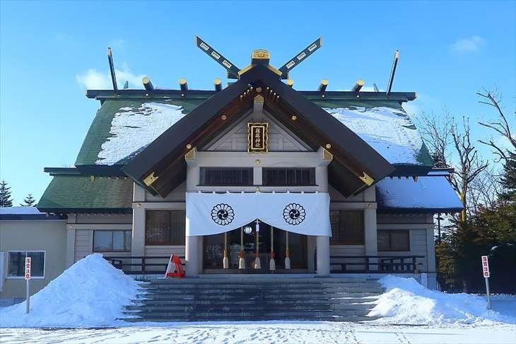 篠路神社 本殿