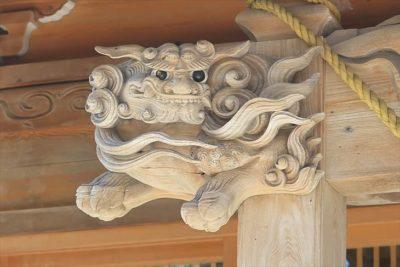 相馬神社の狛犬様