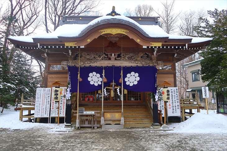 札幌相馬神社の冬
