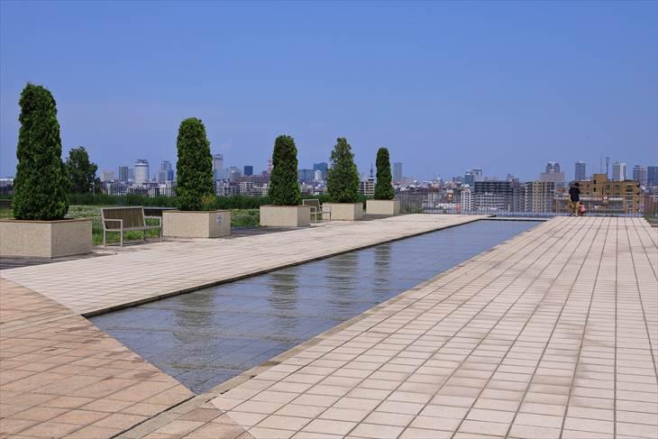 札幌市水道記念館 カナール広場