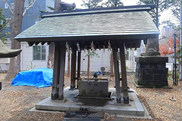 札幌諏訪神社 手水舎