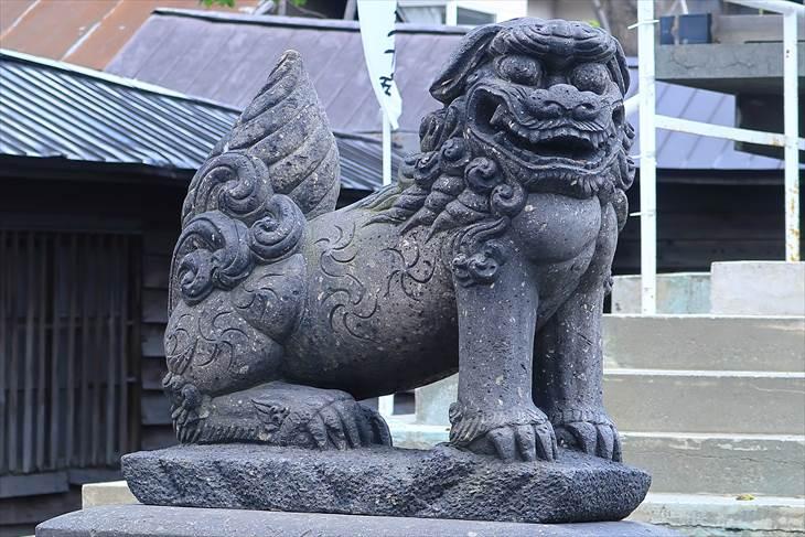 札幌諏訪神社 狛犬様