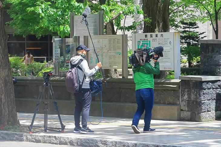 札幌市時計台 2018年6月1日の様子