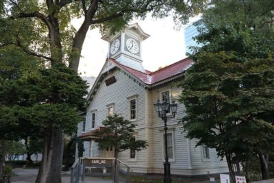 札幌市時計台(旧札幌農学校演武場)
