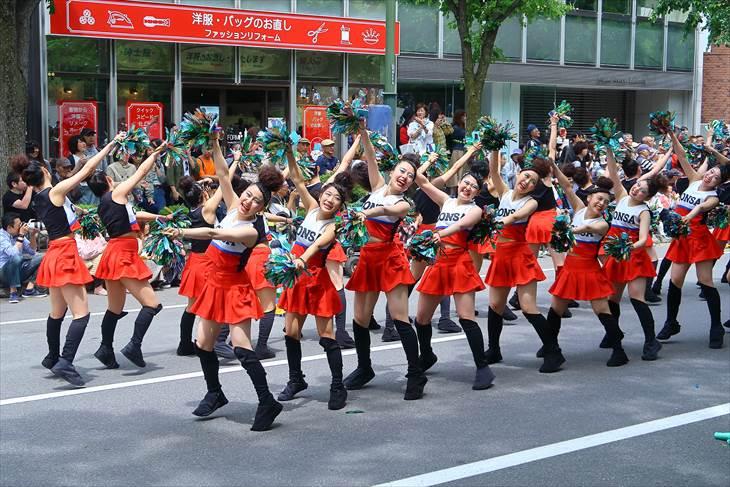 YOSAKOIソーラン祭り コンサフリーク~北海道武蔵女子短期大学