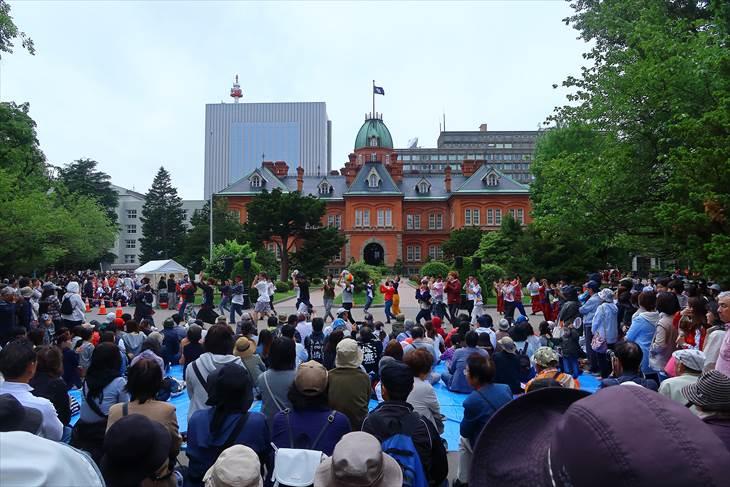 YOSAKOIソーラン祭り 赤れんが庁舎会場