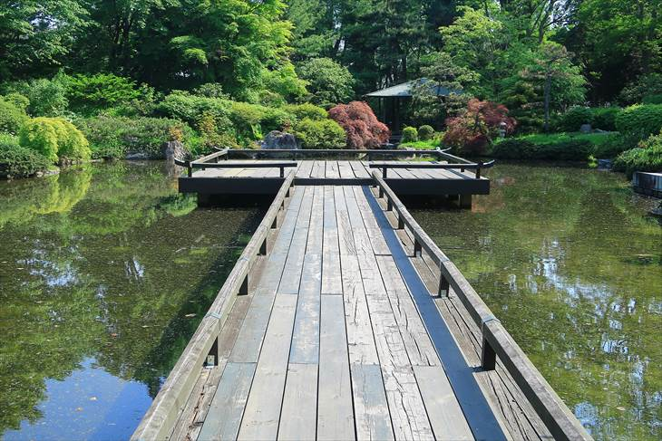 百合が原公園 日本庭園