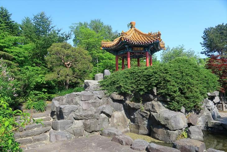百合が原公園  世界の庭園 瀋芳園(中国)