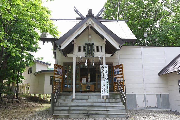 星置神社 拝殿