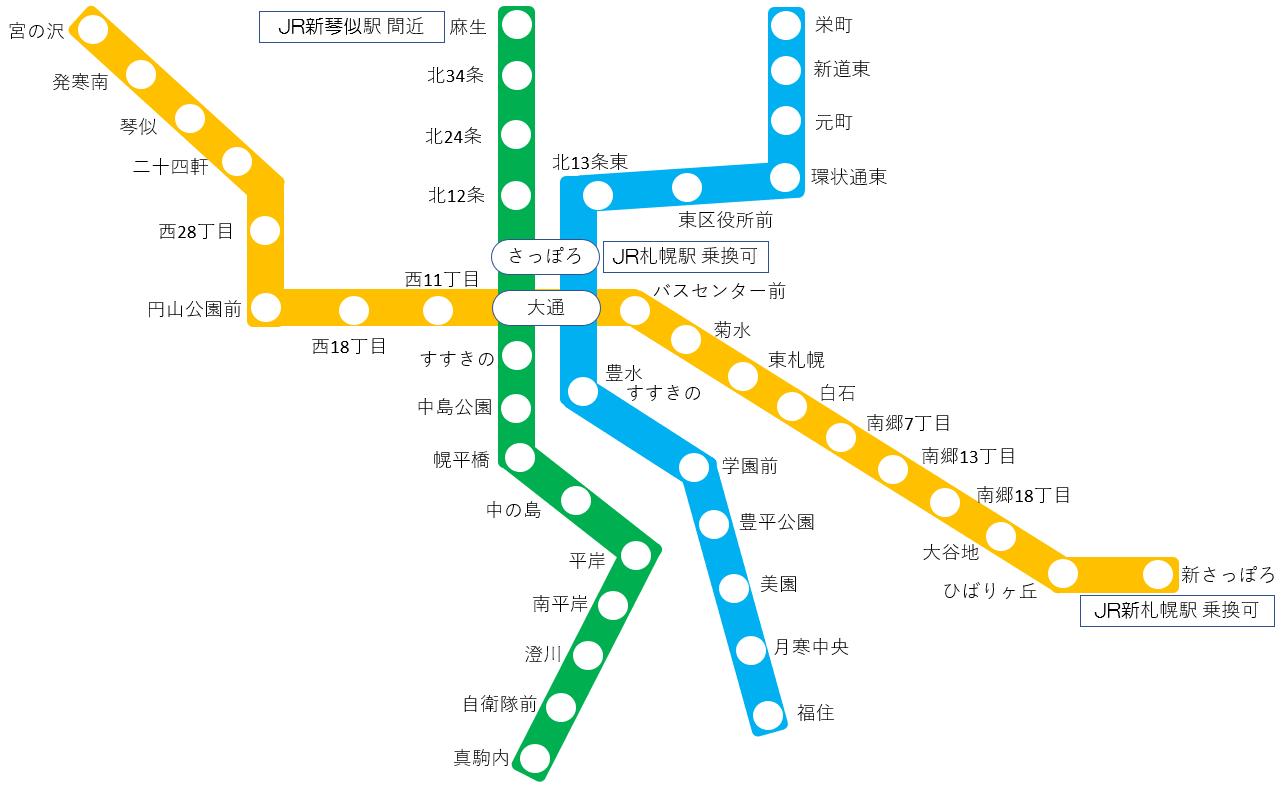 札幌 市 地下鉄 時刻 表 札幌周辺公共交通案内 さっぽろえきバスナビ