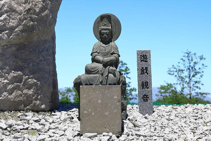 真駒内滝野霊園 モアイ像