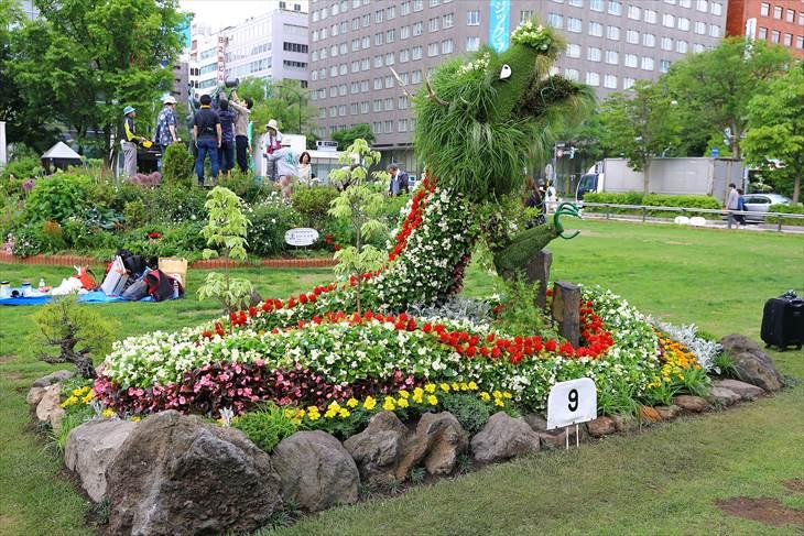 花フェスタ 2018 札幌の様子