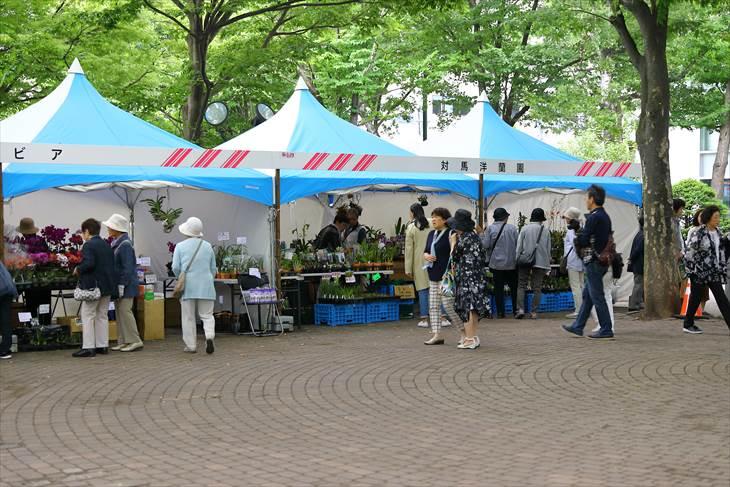 花フェスタ2018札幌の様子