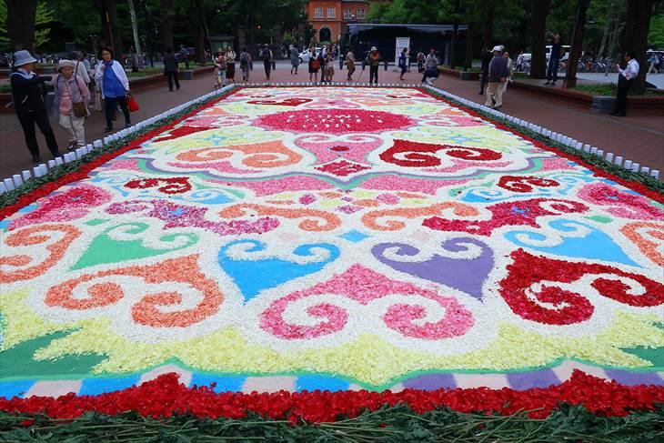 SAPPO_RO FLOWER CARPET(フラワーカーペット)