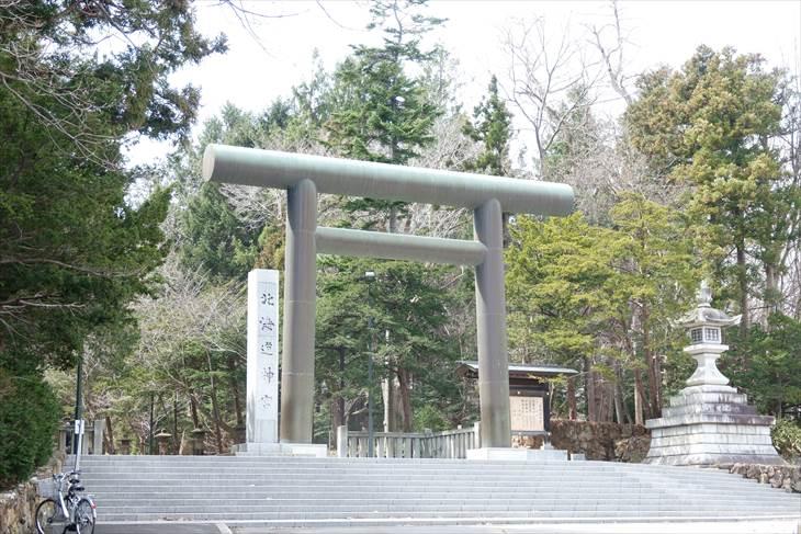 北海道神宮 表参道側鳥居