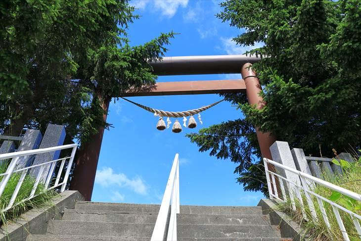 上手稲神社 一の鳥居