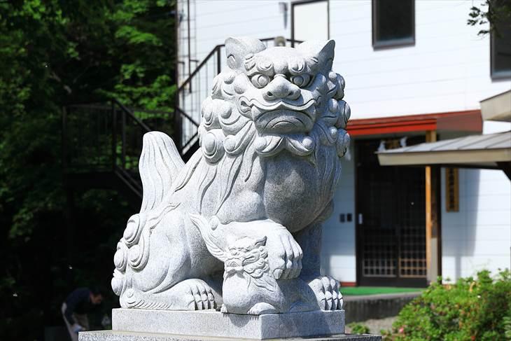 上手稲神社 狛犬