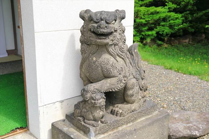 上手稲神社狛犬