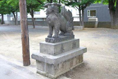 苗穂神社 狛犬