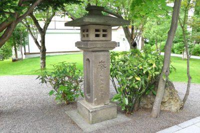 西野神社 石灯籠
