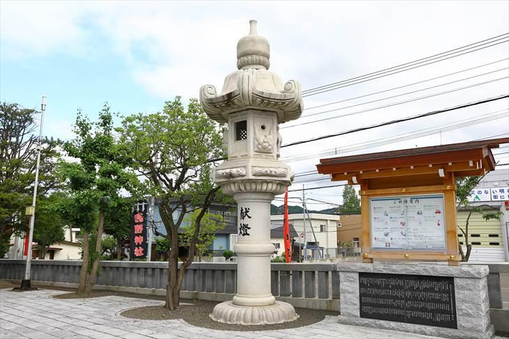 西野神社 大灯籠