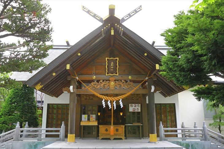 西野神社 社殿
