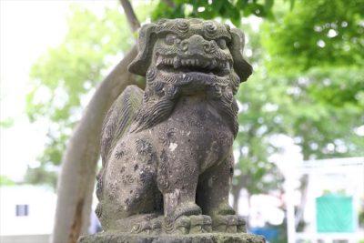 丘珠神社 狛犬