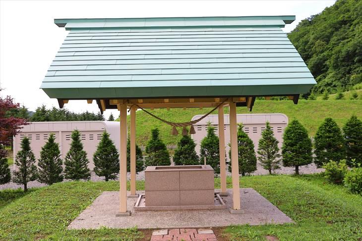 札幌御嶽神社 手水舎