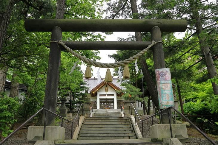 手稲神社の二之鳥居