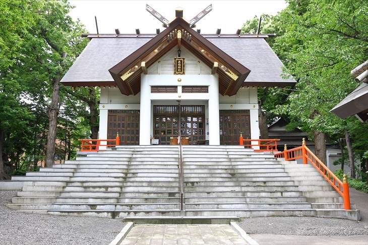 手稲神社 拝殿