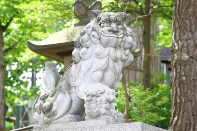 手稲神社の狛犬様