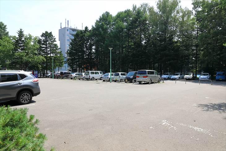 豊平公園 駐車場
