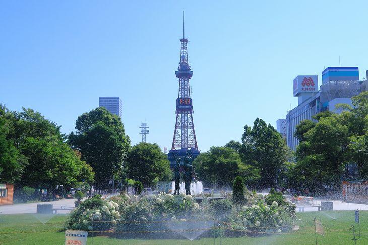 2018年7月の札幌大通公園