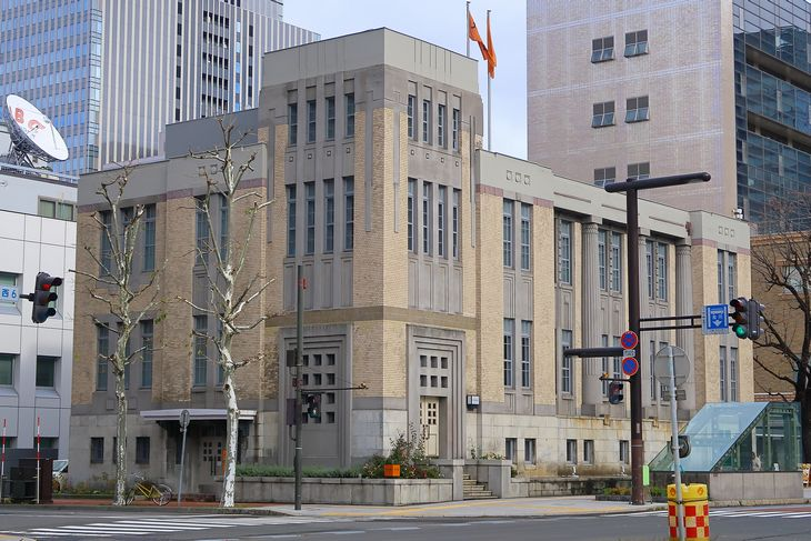 札幌市 旧庁立図書館