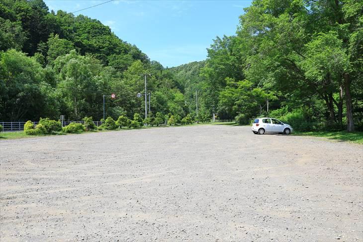 札幌ふれあいの森 駐車場