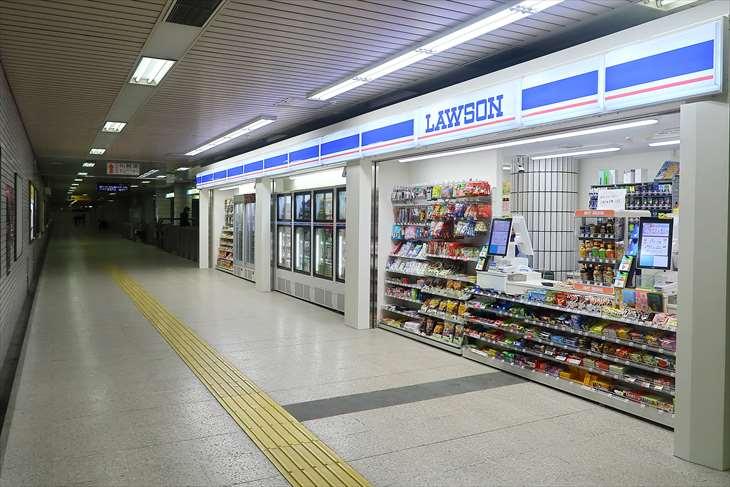 豊水すすきの駅のローソン