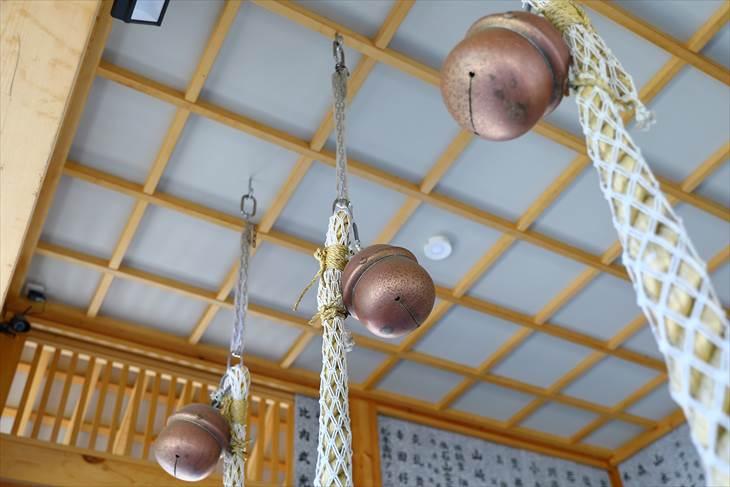 石山神社 鈴