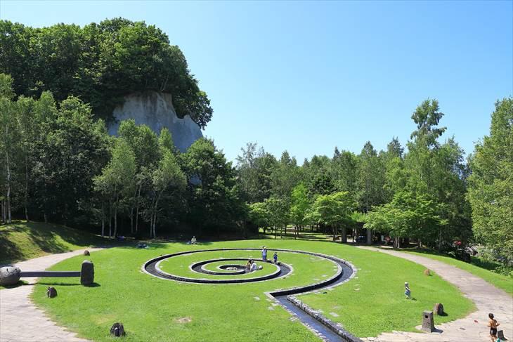 石山緑地 スパイラルスプリング